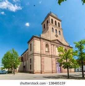 Eglise Royale Saint-Louis in Neuf Brisach - Alsace, France
