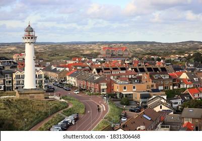Egmond aan Zee. Nordsee, Niederlande.