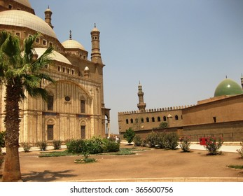 Egypt Cairo fortress Saladin and Mohamed Ali Mosque