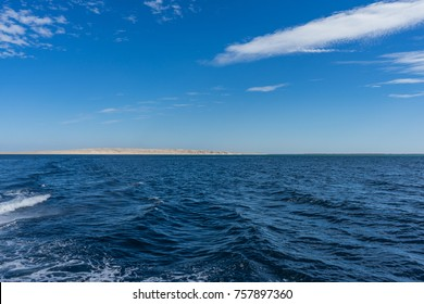 Egypt. Hurghada. Landscape from the sea