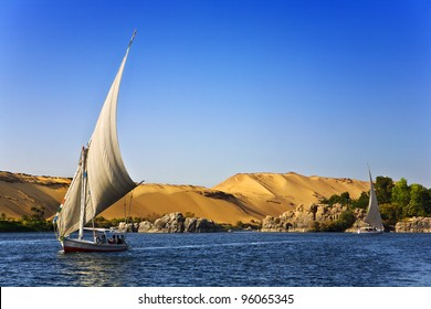 Egypt. The Nile at Aswan