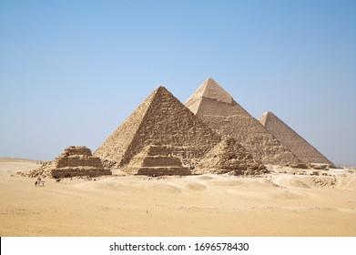 Egypt, the pyramids, Giza region, the oddity of the world