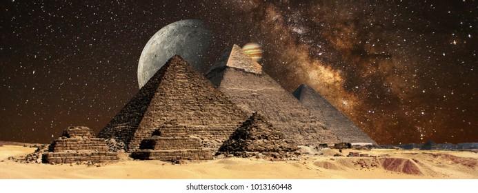 egypt pyramids natura