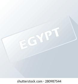 Egypt unique button for any design