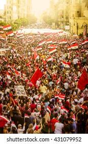 Egyptian Demonstration Against Muslim Brotherhood - Alexandria, Sidi Gaber, Egypt 30 June 2013