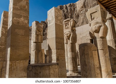 Egyptian effects of pharaonic temple