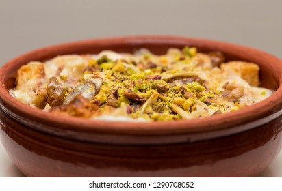 "Egyptian famous sweet dish named ""Om Ali"""