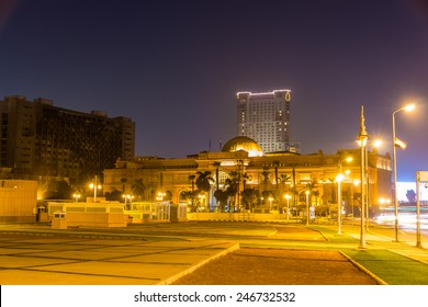 The Egyptian Museum at Tahrir Square in Cairo on January 1, 2015