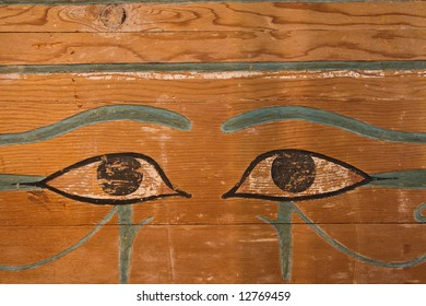Egyptian Painting of Eyes