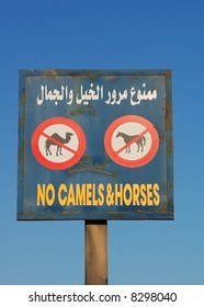 Egyptian trafficsign. A little bit funny...