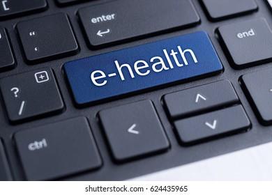 E-health. Electronic medical concept.