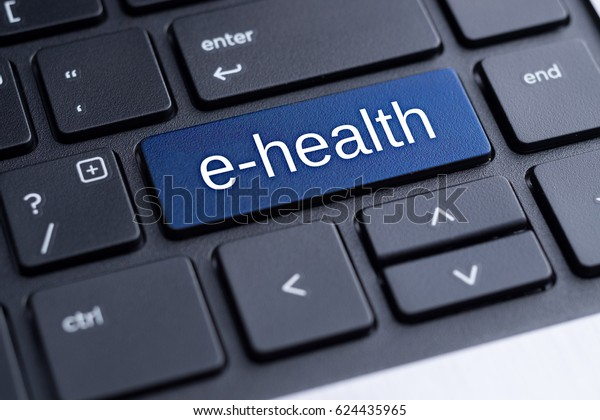 E-health. Electronic medical concept.