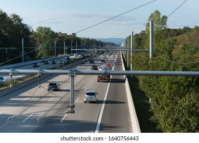 e-highway test track against co2 pollution
