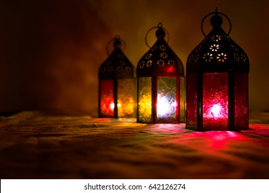 ramadan lamp images stock photos vectors shutterstock https www shutterstock com image photo eid colorful lamps lanterns ramadan other 642126274