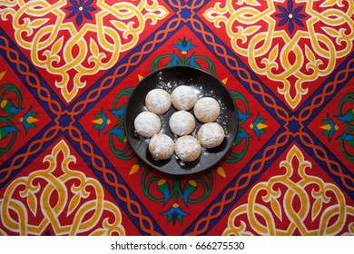 Eid cookies it served for celebrate after ramadan month and Eid fitr
