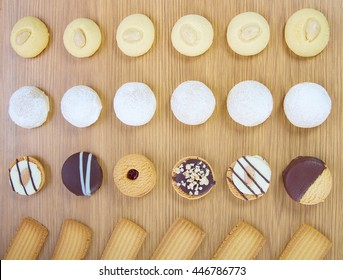 Eid El Fitr Cookies ( Kahk - Ghorayeba - Biscuits )