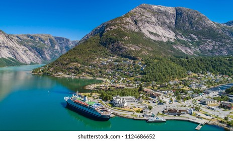Eidfjord. Municipality in Hordaland county, Norway.
