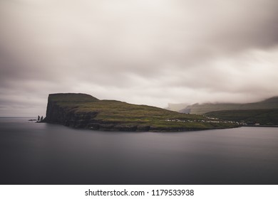 Eidis and Eysturoy penninsula Faroe Islands