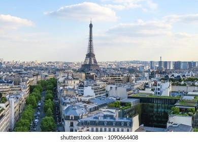 Eifel tower view