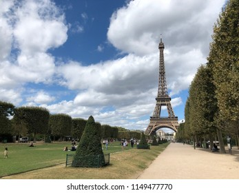 The Eifeltower in Paris