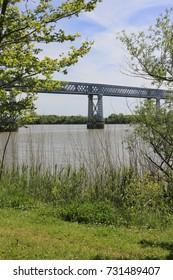 The eiffel bridge, Cubzac-les-ponts, Gironde, France