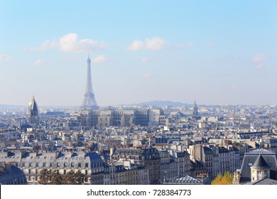 eiffel in paris great for your travel concept