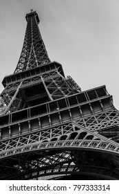 Eiffel tower in the city of Paris (France)