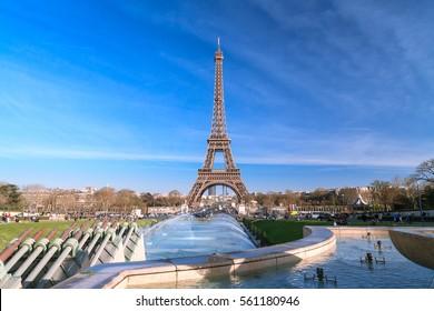 Eiffel Tower from jardins du trocadero