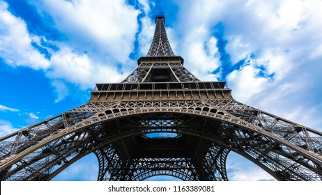 Eiffel Tower landmark and historic of France country