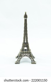 Eiffel tower model isolate