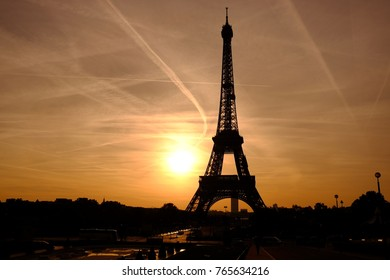 The Eiffel Tower in the morning, Paris, France