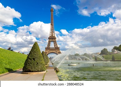 Eiffel Tower most visited monument in France and the most famous symbol of Paris