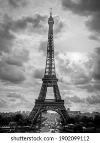Eiffel Tower on the clouds - Paris