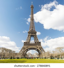 The Eiffel Tower is one of the world's most famous landmark. It is also one of the most visited place in Paris, France.
