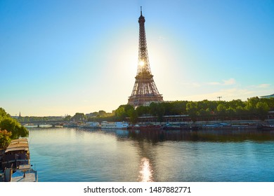 Eiffel Tower in Paris - Capital of France