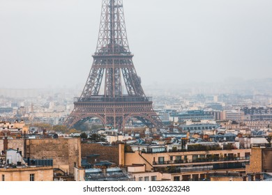 Eiffel tower in Paris - France.