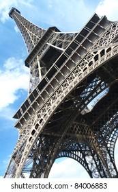 The Eiffel tower. Paris. France.