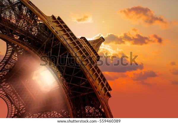 Eiffelturm, Paris. Frankreich