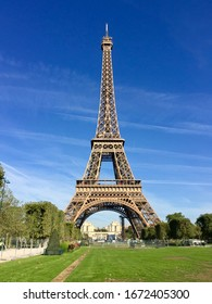 Eiffel Tower, Paris, France.Constructed from 1887 to 1889 as the entrance to the 1889 World`s Fair, it was initially criticised by some of France`s leading artists and intellectuals for its design, bu
