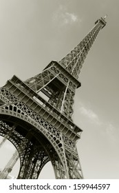 Eiffel tower, Paris, Ile de France, France