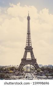 Eiffel tower, Paris (vintage)