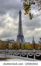 Eiffel tower in Paris,France