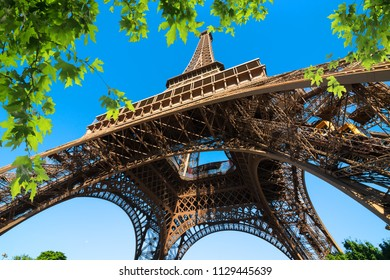 Eiffel Tower in the park of Paris