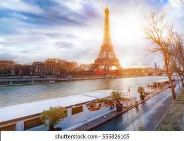 Eiffel Tower at Seine