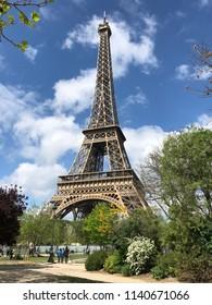 Eiffel Tower Springtime