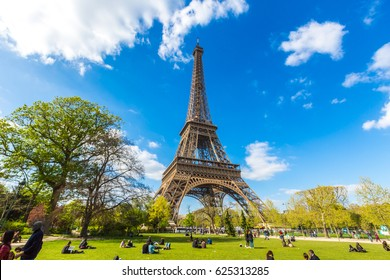 The Eiffel Tower, symbol of Paris.