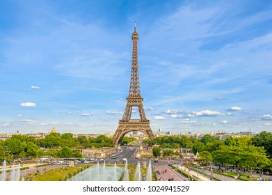 Eiffel Tower, the tallest structure in Paris