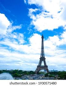 Eiffel Tower Tour Paris, France Skyline