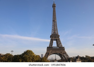eiffelTower in sunny fall day in Paris, France