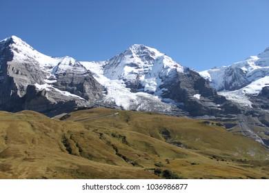 Eiger Mountain range  Switzerland